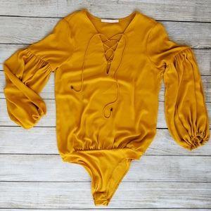 Zara Mari Gold Body Suit